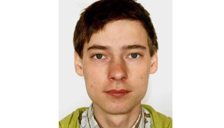 Lūdz iedzīvotāju palīdzību bezvēsts pazuduša jaunieša meklēšanā