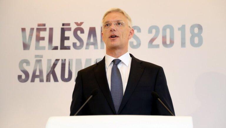 Все партии согласны с предложенной Кариньшем моделью правительства