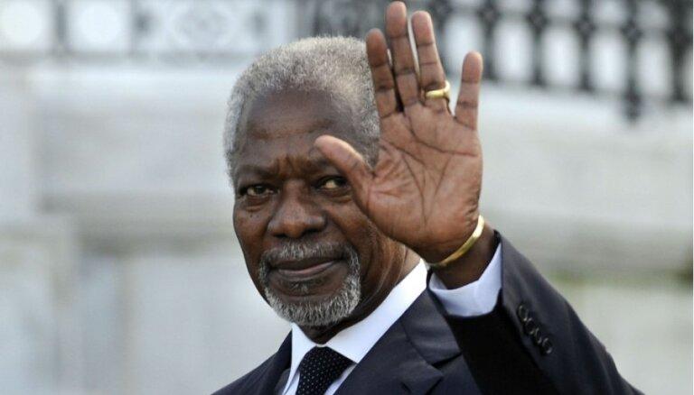 Умер бывший генсек ООН Кофи Аннан