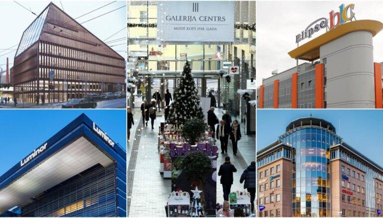 Top 10: lielākie nekustamā īpašuma investīciju darījumi 2019. gadā Latvijā