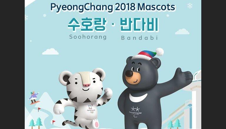 Корейцы выбрали два талисмана для Олимпиады-2018