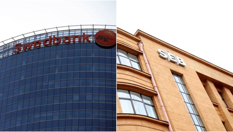 Banku sektorā lielākā peļņa 'Swedbank' un 'SEB banka'; zaudējumi trim bankām