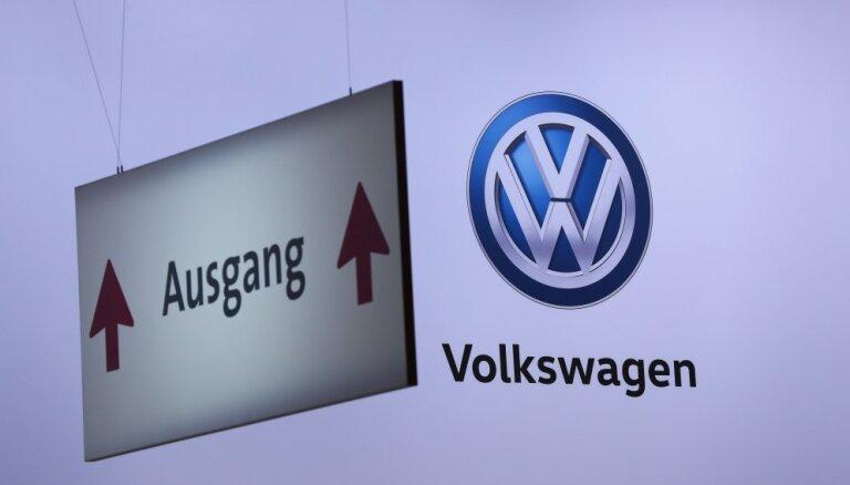 Volkswagen в Германии предложил премию за сдачу в утиль старых дизельных автомобилей