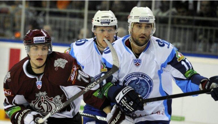 KHL spēle: Rīgas 'Dinamo' - Minskas 'Dinamo' 1:2 (spēle noslēgusies)