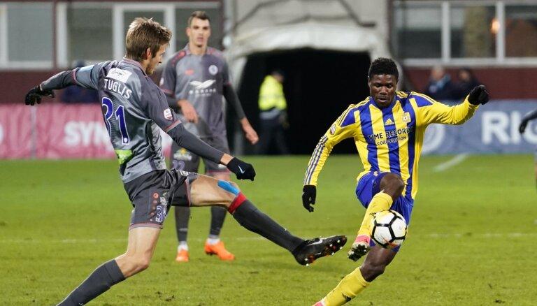 'Riga' un 'Ventspils' uzzinājusi iespējamos pretiniekus UEFA Eiropas līgas ceturtajā kārtā