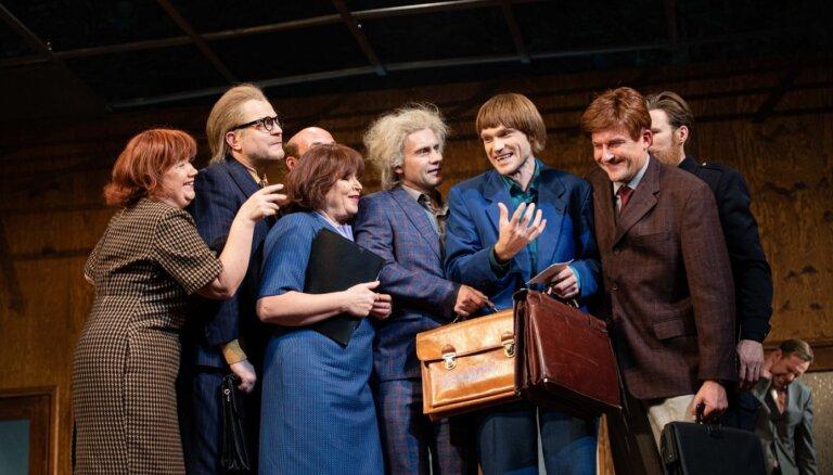 Foto: Nacionālajā teātrī iestudēta Gogoļa slavenā komēdija 'Revidents'