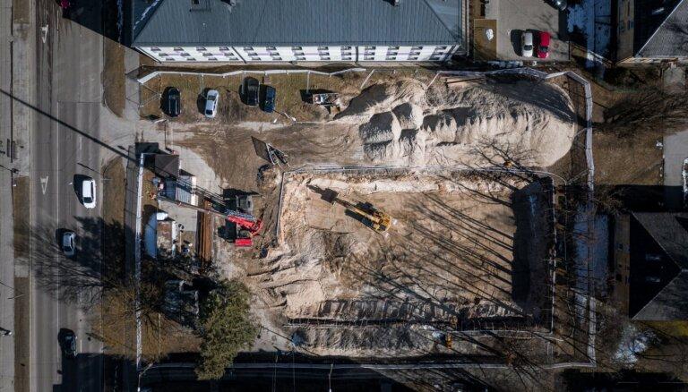Rīgas tuvajā centrā taps 'zaļa' jaunbūve ar 36 dzīvokļiem