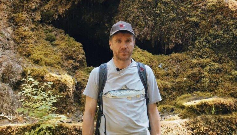 Dodies ekspedīcijā ar Māri Olti uz Raunas Staburagu