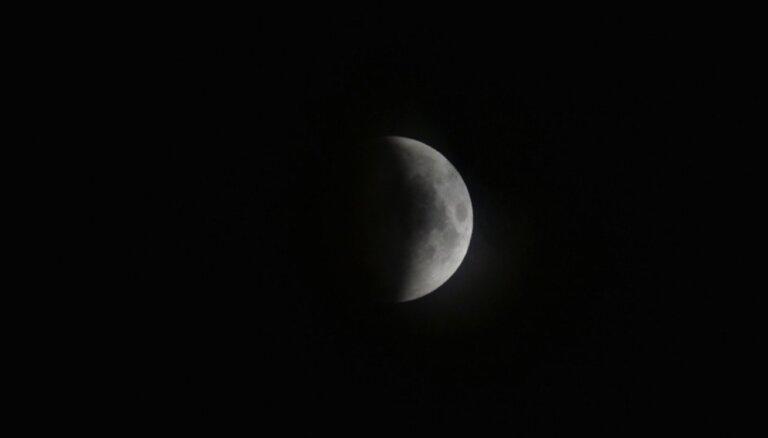 Foto: Mēness aptumsums citviet pasaulē