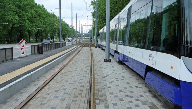 В понедельник в Риге будет открыт новый трамвайный маршрут Иманта-Югла