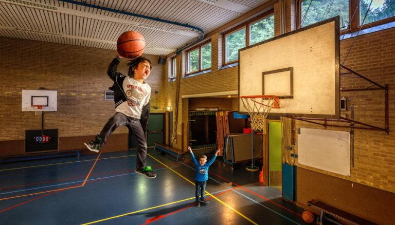 Pirmklasniekus aicina piedalīties konkursā par basketbolu