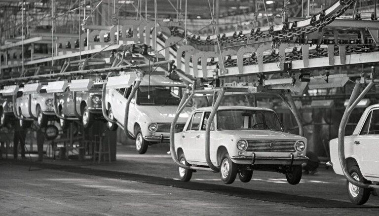 Pirms 50 gadiem sākās žiguļu ēra – ražošanā nonāk 'VAZ-2101'