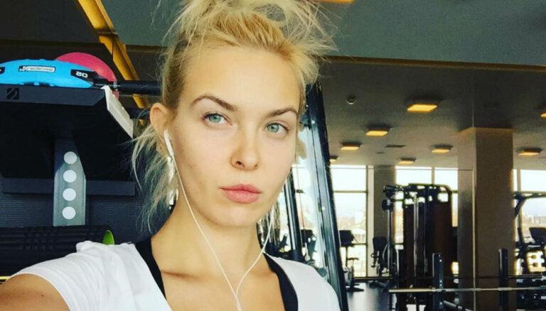 Iedvesmojoši foto: Jeļena Ušakova sporto un svīst treniņos