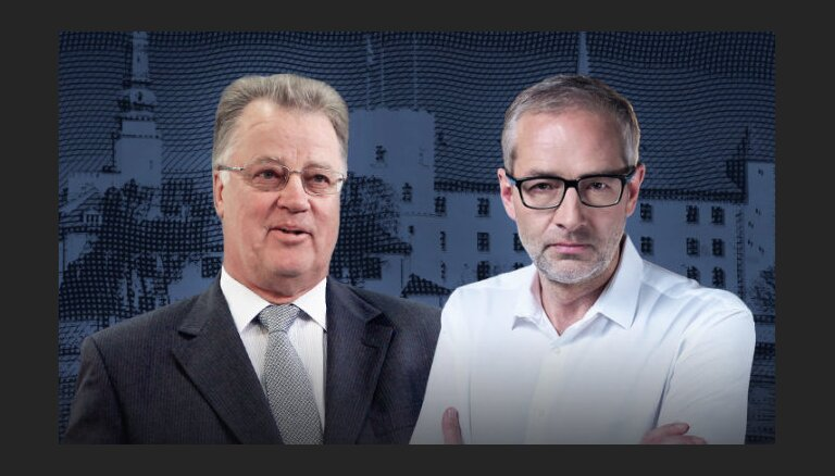 """""""Delfi TV с Янисом Домбурсом"""": на вопросы отвечает Гунтис Улманис"""