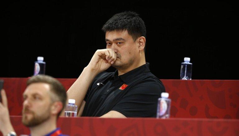 Ķīnas basketbola asociācija atcēlusi paredzētās NBA spēles