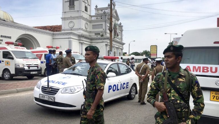 Šrilankā sprādzienos baznīcās un viesnīcās 202 bojāgājušie