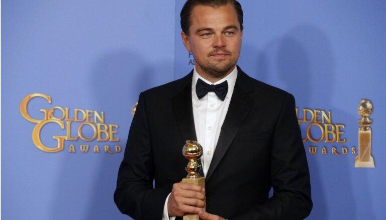 """Фильм """"Выживший"""" и Ди Каприо стали победителями """"Золотого глобуса"""""""