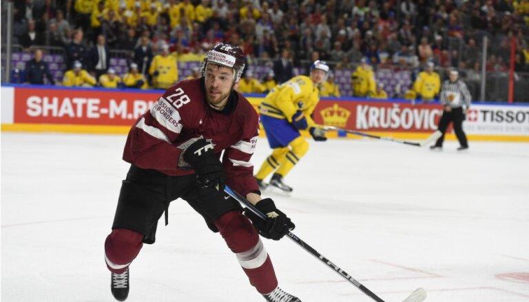 Girgensons nepalīdzēs Latvijas izlasei pasaules čempionātā