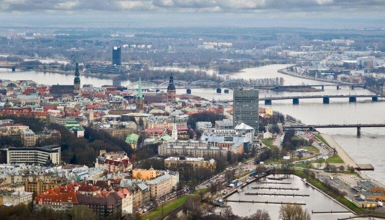 Население Риги продолжает сокращаться в пользу близлежащих самоуправлений