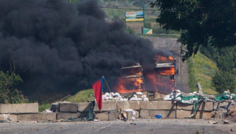 Ukrainas armija pārņēmusi kontroli pār Mariupoli; nogalināti aptuveni 150 separātistu kaujinieki