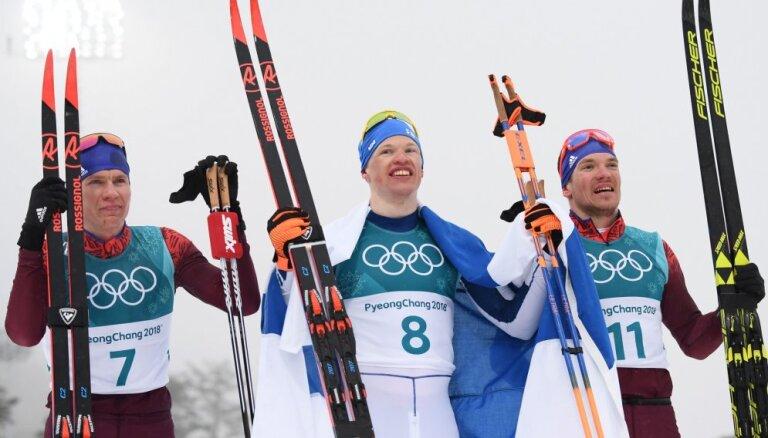 Российские лыжники завоевали две медали в марафоне на Олимпиаде