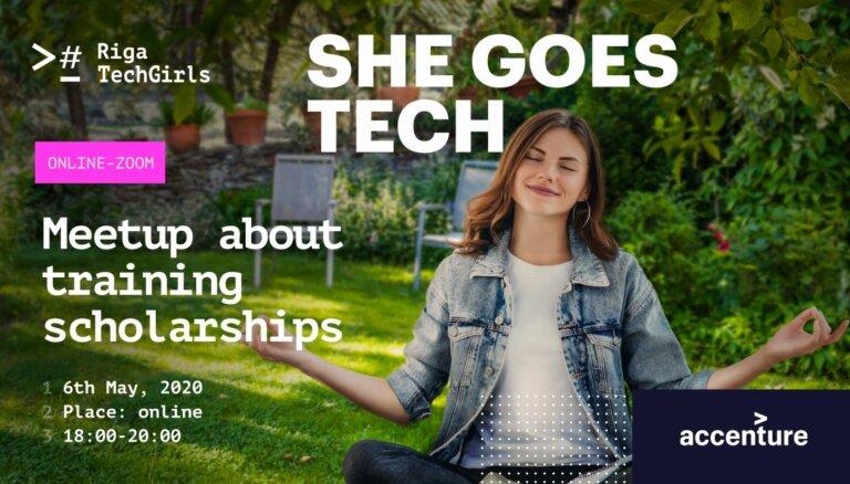Iespēja pašizaugsmei – 160 dāmas tiešsaistē bez maksas varēs apgūt programmēšanu