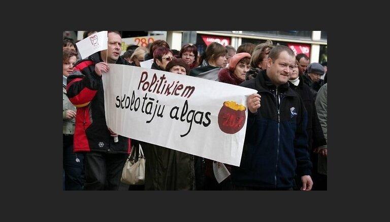 В забастовке учителей примут участие 24 546 работников образования и науки