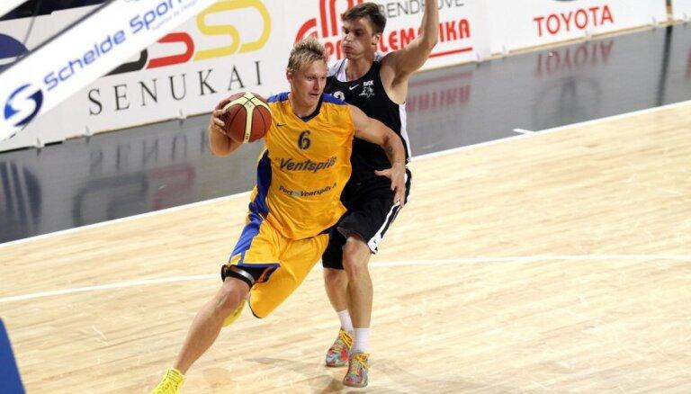'Ventspils' basketbolisti neiekļūst BBL kausa finālā