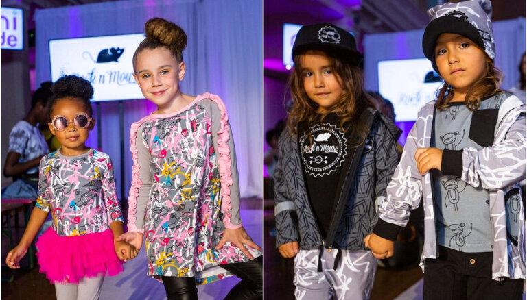 Foto: Latvijas apģērbu zīmols debitē Londonas bērnu modes nedēļā