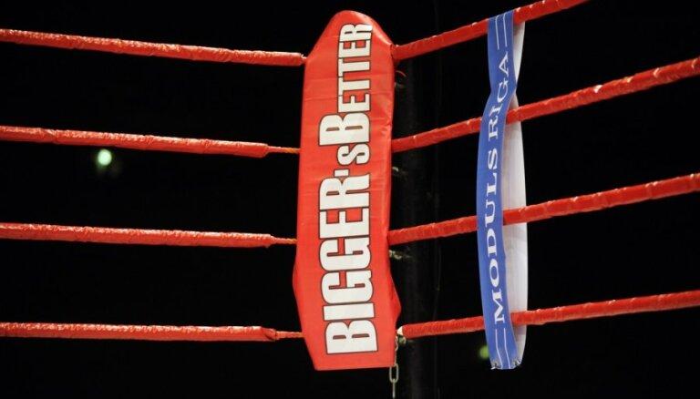 Zināmi Liepājā notiekošā 'Bigger's Better' boksa turnīra dalībnieki