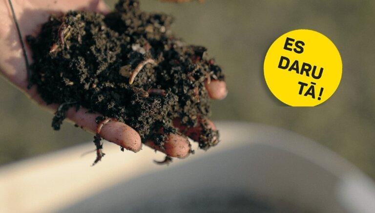 Melnais zelts: Ineses Rērihas slieku audzēšanas rūpals