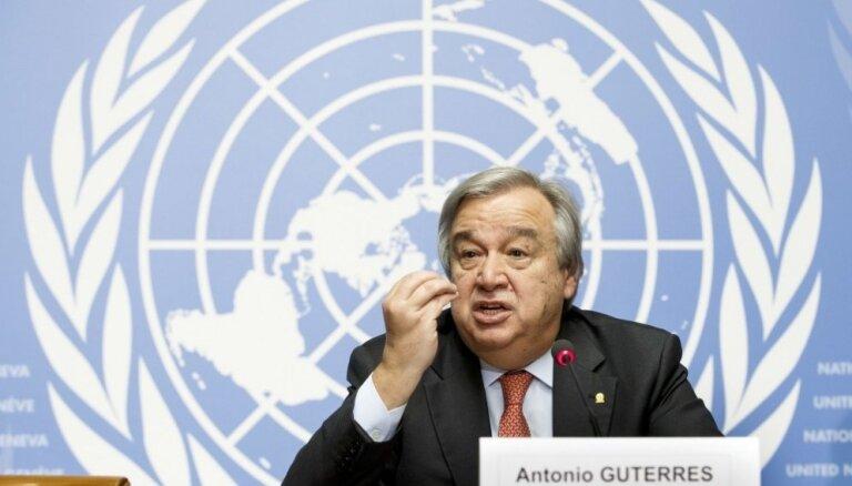 Pamatjautājumi ANO klimata forumā palikuši neatrisināti, pauž Gutērrešs