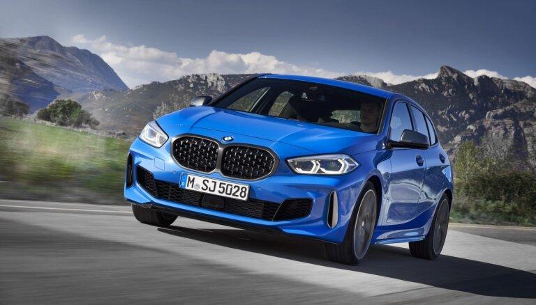 BMW jaunā 1. sērija ieguvusi priekšpiedziņu un plašāku interjeru