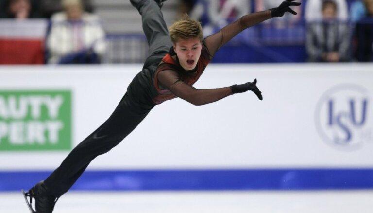 Латвийский фигурист Васильев — четвертый на соревнованиях в Италии