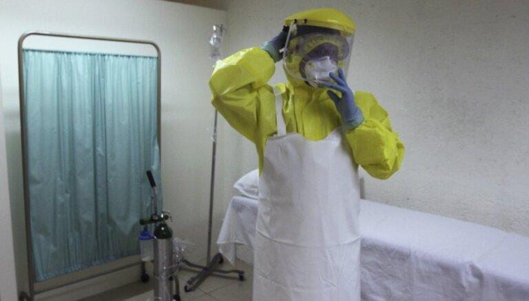 Zviedrijā neapstiprinās aizdomas par cilvēka saslimšanu ar Ebolas vīrusu