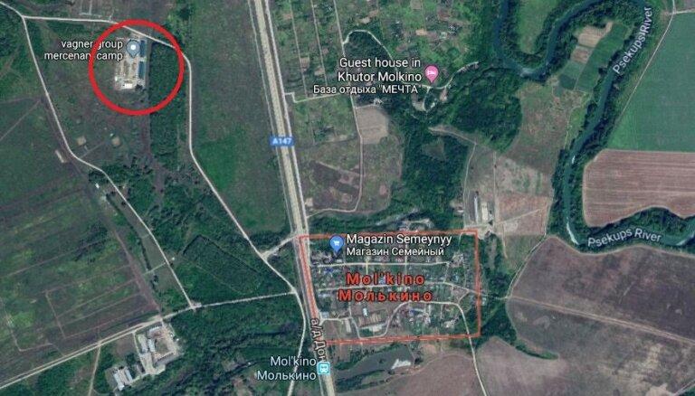 Krasnodarā algotņu bāze maskēta par pionieru nometni