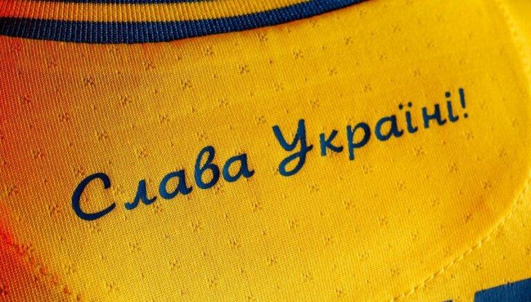 Krievija iebilst pret Ukrainas 'Euro 2020' spēļu krekliem