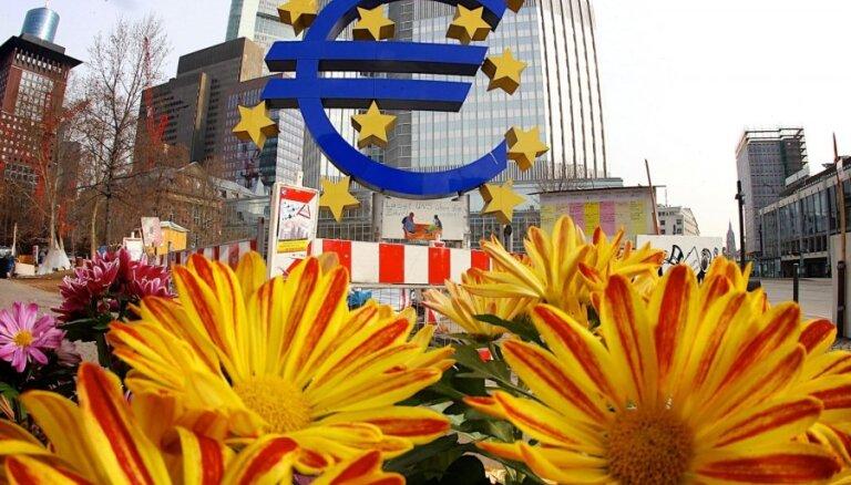Европейский центробанк повысил прогнозы по ВВП и инфляции еврозоны