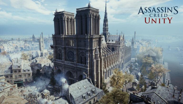 Создатели Assasins Creed Unity пожертвуют 0,5 млн евро на реставрацию Нотр Дама