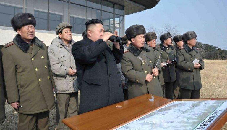 Ziemeļkoreja paziņo, ka izmēģinājusi 'ultramodernu taktisko ieroci'