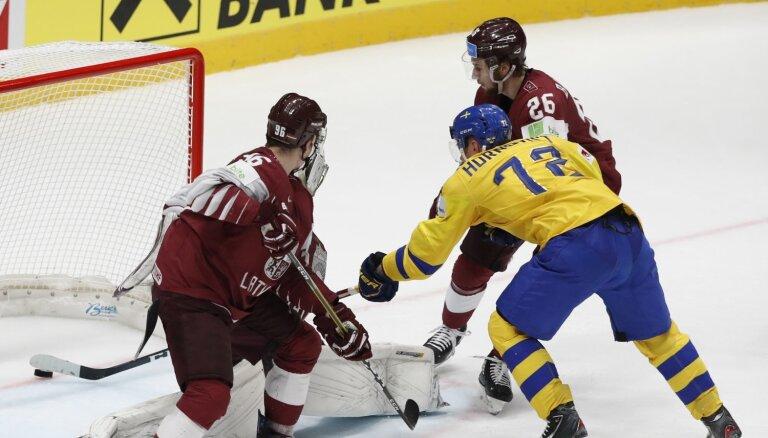 Video: IIHF topos Zviedrija sarūgtina Latviju, vārtsargi glābj Lielbritāniju un Itāliju