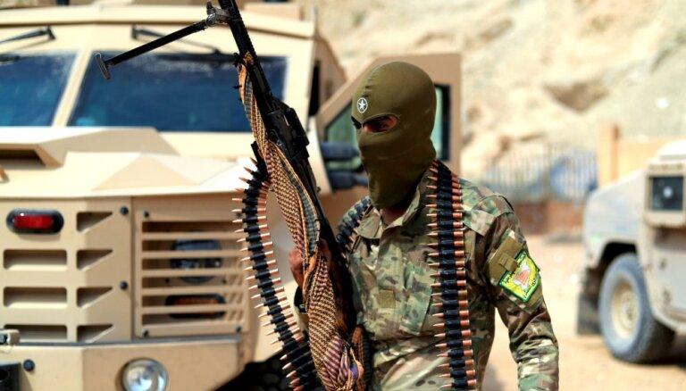 Karte: ASV balstītie kurdi iespiež 'Daesh' atliekas desmit kvadrātkilometros