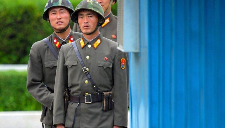 Brisele: nav vajadzības evakuēt ES valstu vēstniecības Ziemeļkorejā