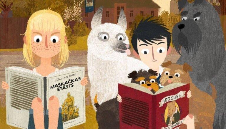Zinību dienā izrādīs animācijas filmu 'Jēkabs, Mimmi un runājošie suņi'