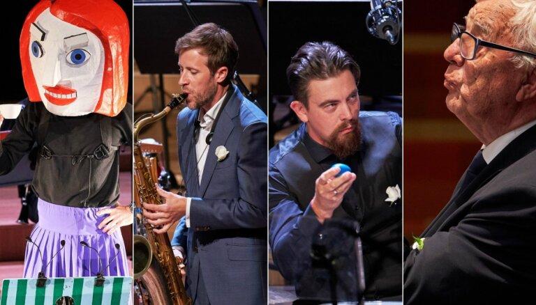 Foto: Raimonds Pauls, 'Xylem Trio' un 'Zenīts' – izskanējis festivāls 'LNSO vasarnīca'
