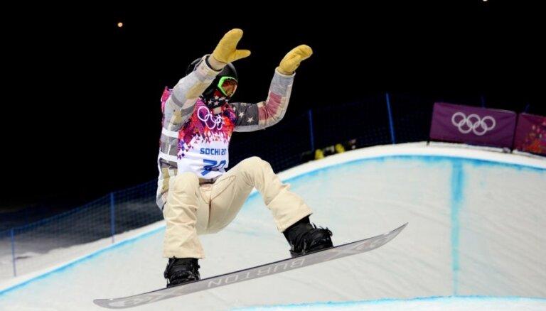 Divkārtējais olimpiskais čempions Vaits sūkstās par Soču rampas kvalitāti