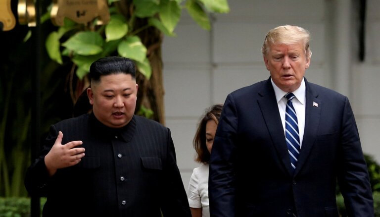 Ziemeļkorejas jautājumos Tramps kļūst izolētāks, atzīmē medijs