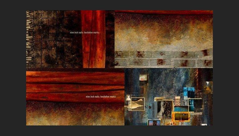 Новому альбому Nine Inch Nails сделали обложку из крови и грязи