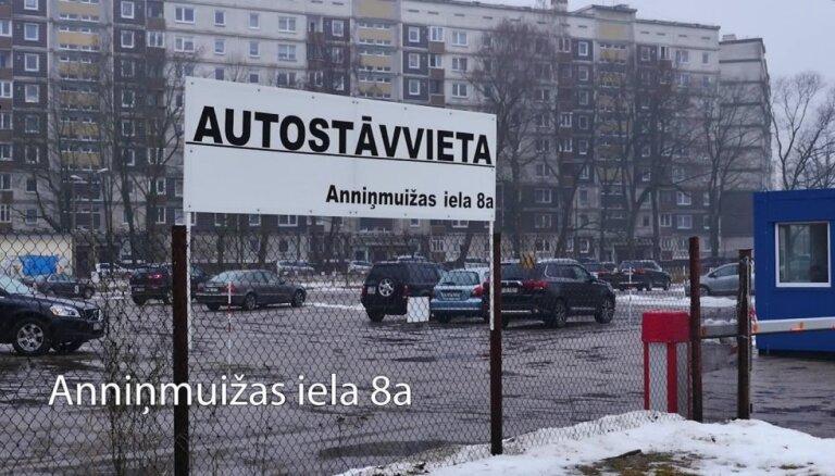 'Lidl' veikala būvniecības vietas Rīgā