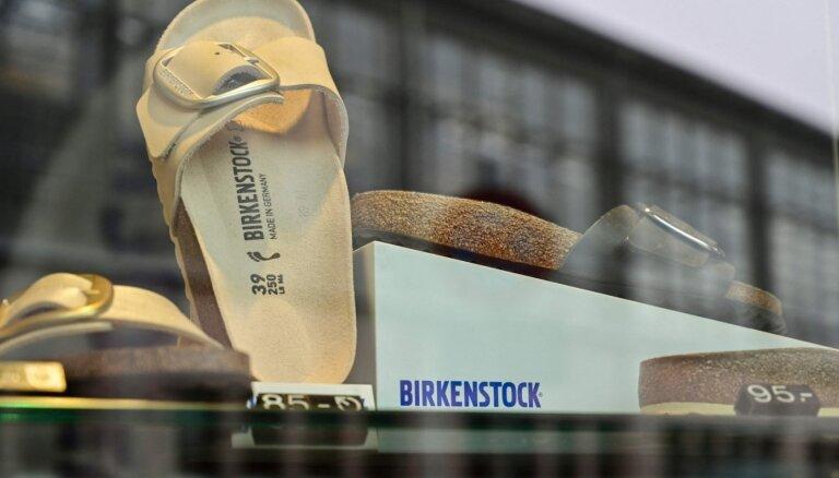 Pārdots apavu zīmols 'Birkenstock'